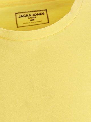 Žlté tričko s potlačou Jack & Jones Metro