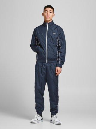 Tmavě modrá lehká šusťáková bunda Jack & Jones Ace