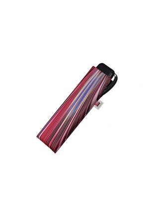 Doppler Carbonsteel SLIM Fantasy ultralehký skládací plochý deštník - Fialová