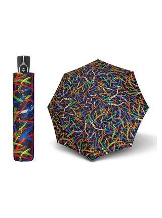 Doppler Magic Fiber Expression dámský plně automatický deštník - Modrá