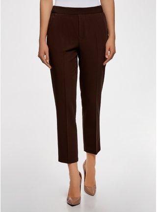 Nohavice zúžené s elastickým pásom OODJI