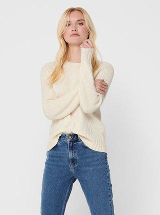 Krémový svetr ONLY Sandy