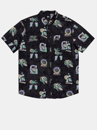 Černá vzorovaná košile Quiksilver