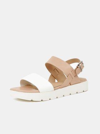 Krémovo-béžové dámske sandále ALDO Dwylia
