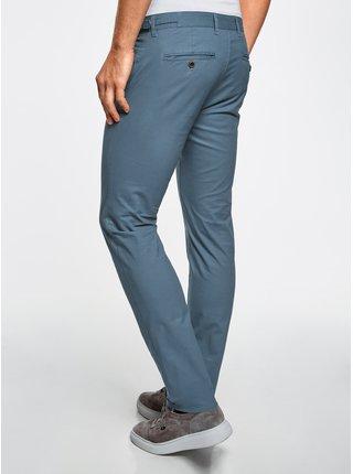 Kalhoty typu chinos bavlněné s regulováním šířky pasu OODJI