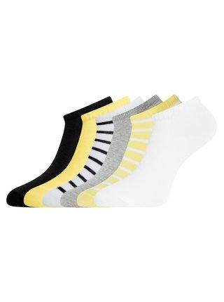 Ponožky kotníčkové (sada 6 párů) OODJI