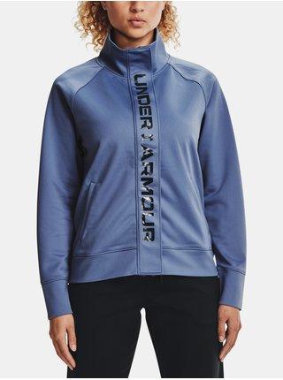 Bunda Under Armour Recover Tricot Jacket - modrá
