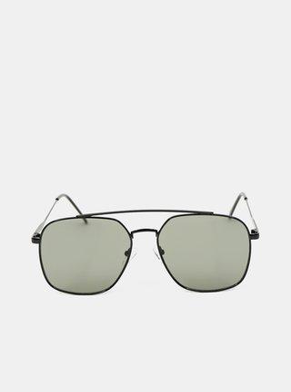 Černé pánské sluneční brýle ALDO Adolpho