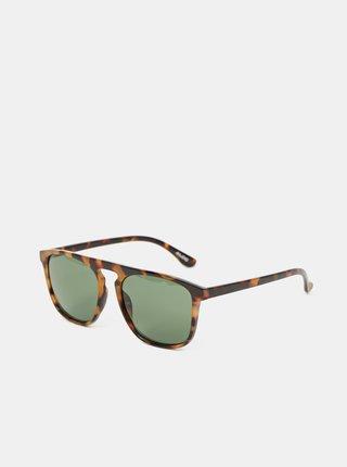Hnědé pánské vzorované sluneční brýle ALDO Retton