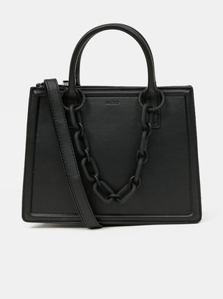 Černá kabelka s ozdobným řetízkem ALDO Galoassi