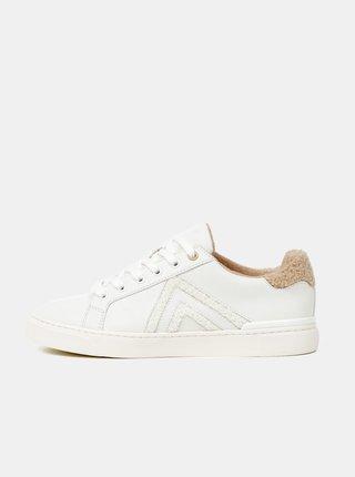 Bílé dámské vzorované tenisky ALDO Fran