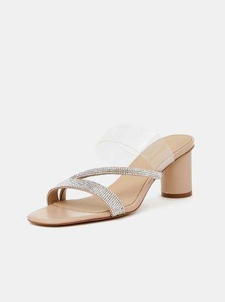 Sandále pre ženy ALDO - strieborná
