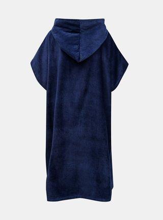 Tmavě modrý župan s kapucí Roxy