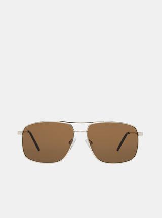 Pánské sluneční brýle ve zlaté barvě Guess