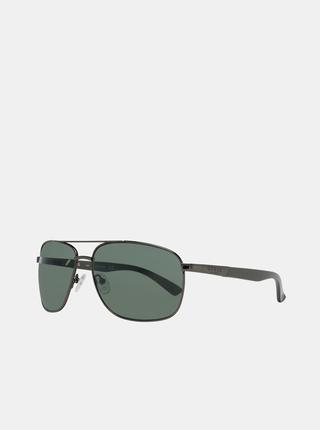 Tmavě šedé pánské sluneční brýle Guess