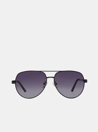 Černé pánské sluneční brýle Guess