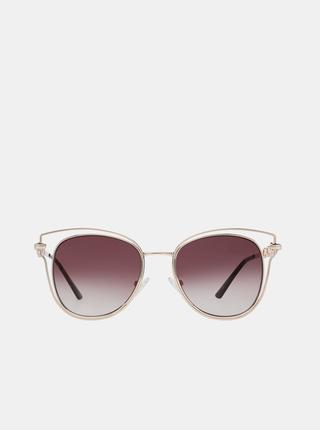 Dámské sluneční brýle ve zlaté barvě Guess