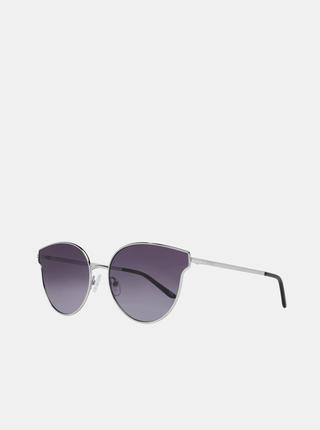 Dámske slnečné okuliare v striebornej farbe Guess