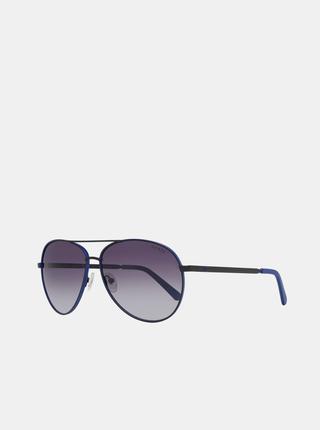 Modro-černé pánské sluneční brýle Guess