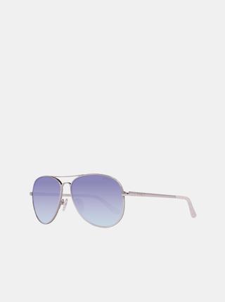 Dámské sluneční brýle ve stříbrné barvě Guess