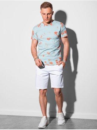 Pánske tričko bez potlače S1372 - mätová
