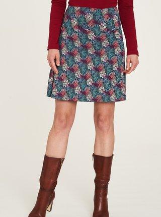Modrá vzorovaná sukňa Tranquillo