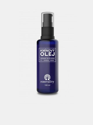 Kmínový olej pro suchou a podrážděnou pokožku RENOVALITY (100 ml)