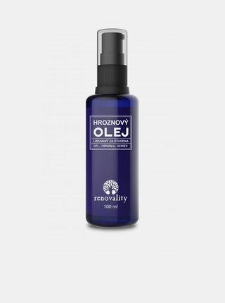 Hroznový olej pro mastnou a aknózní pleť RENOVALITY (100 ml)