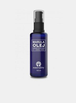 Marulový olej pro všechny typy pleti RENOVALITY (100 ml)