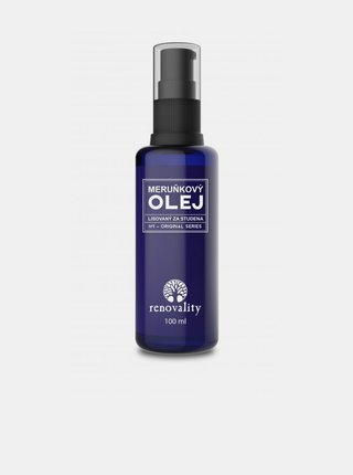 Meruňkový olej pro všechny typy pleti RENOVALITY (100 ml)