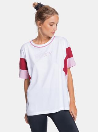 Bílé dámské tričko Roxy