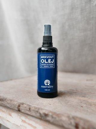 Mrkvový olej pro všechny typy pleti RENOVALITY (100 ml)
