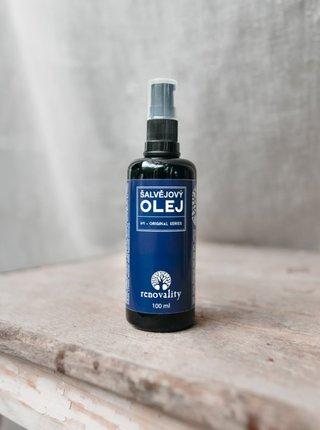 Šalvějový olej pro všechny typy pleti RENOVALITY (100 ml)