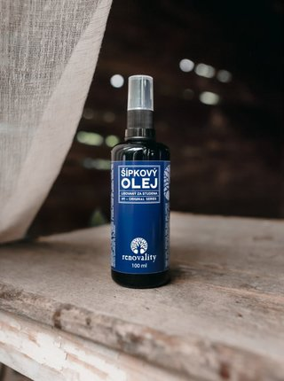 Šípkový olej pro suchou a dehydratovanou pleť RENOVALITY (100 ml)