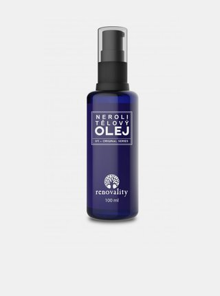 Neroli tělový olej pro všechny typy pokožky RENOVALITY (100 ml)