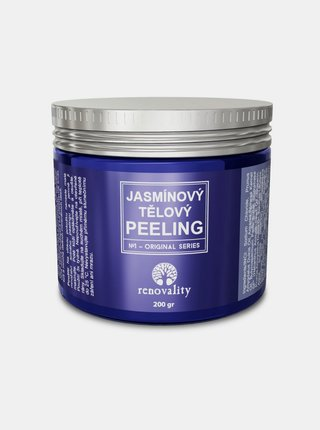 Jasmínový tělový peeling RENOVALITY (200 g)