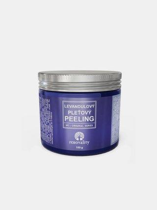 Levandulový pleťový peeling pro všechny typy pleti RENOVALITY (100 g)