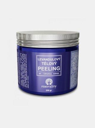 Levandulový tělový peeling pro všechny typy pokožky RENOVALITY (200 g)