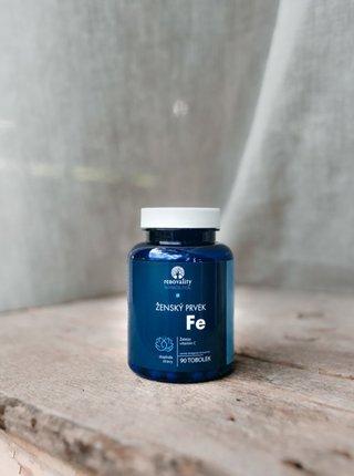 Doplněk stravy: Ženský prvek Fe s Acerolou RENOVALITY (90 tobolek)