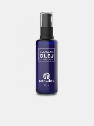 Olej Squalan pro všechny typy pleti RENOVALITY (50 ml)