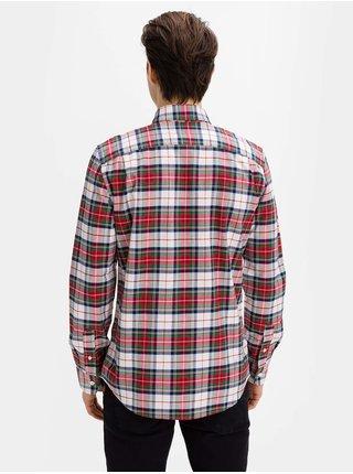 Červená pánská košile oxford shirt in slim fit GAP
