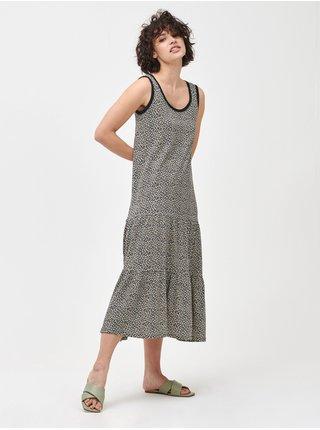 Barevné dámské šaty sleeveless tiered maxi dress GAP