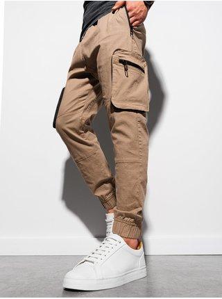 Pánské jogger kalhoty P960 - bronzová