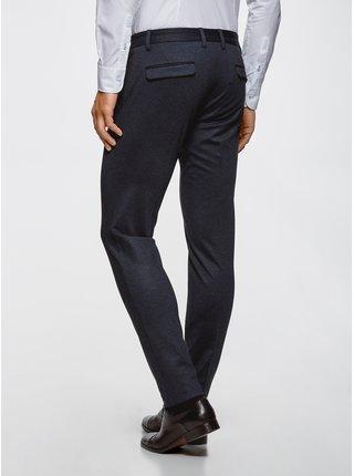 Kalhoty slim se záložkami OODJI