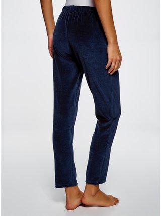 Kalhoty domácí s elastickým pasem se zavazováním OODJI