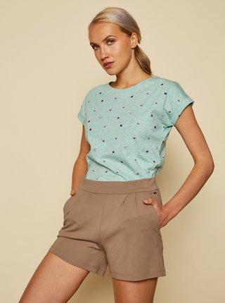 Tričká s krátkym rukávom pre ženy ZOOT Baseline - zelená