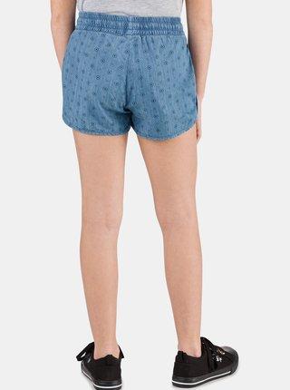 Modré holčičí vzorované džínové kraťasy SAM 73