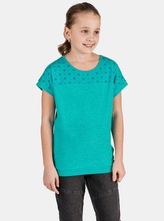 Zelené holčičí vzorované tričko SAM 73