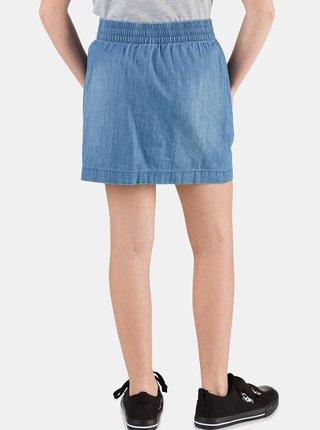 Modrá holčičí džínová sukně s knoflíky SAM 73