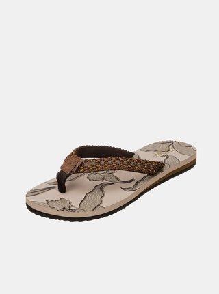 Papuče, žabky pre ženy SAM 73 - hnedá